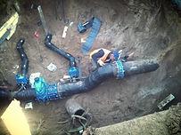 Монтаж водопровода, наружный водопровод, водоснабжение
