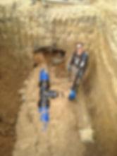 Строительство наружных сетей водопровод