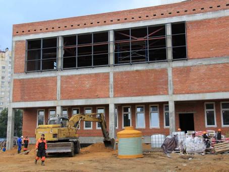Завершены работы по строительству НВК сетей для Начальной школы  на ул. Композиторов.
