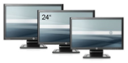 24'' LCD Flat Screen Multi-Sync Monitor