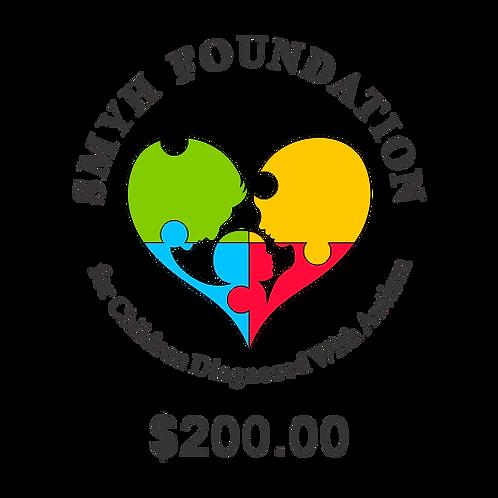 DONATION $200.00