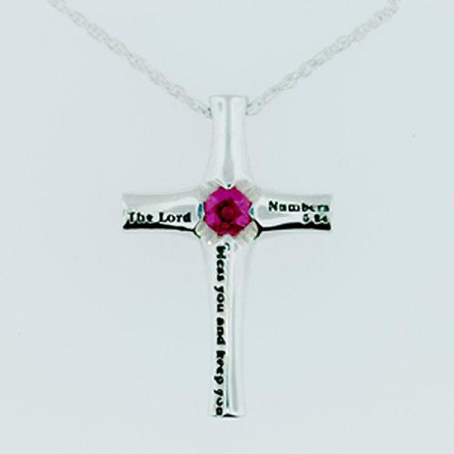 Art Nouveau Cross pendant