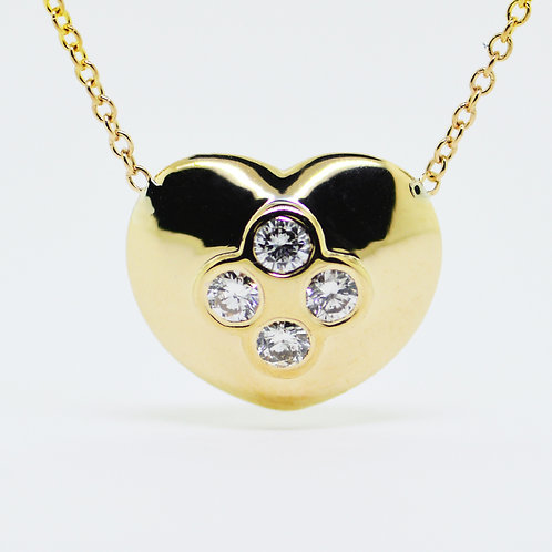 Amourer  Heart Diamond  Pendant