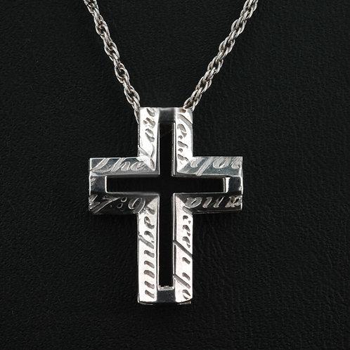 ArtDeco Cross Pendat