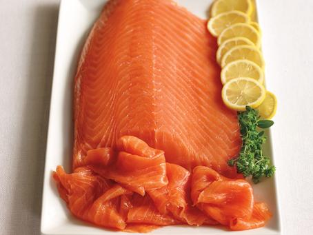 Il salmone affumicato