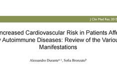 Nuova pubblicazione - Associazione tra malattie cardiovascolare e autoimmuni