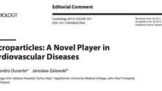 Nuova pubblicazione: le microparticelle nelle malattie cardiovascolari