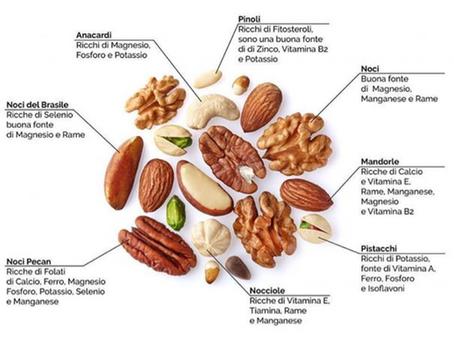 Frutta secca: quanta mangiarne?