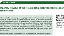 Nuova pubblicazione - Carne e rischio cardiovascolare