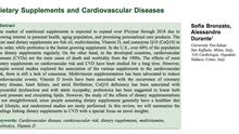 Integratori e rischio cardiovascolare
