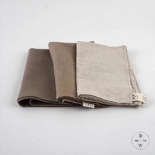 Linen Napkins - Earth Tone Series