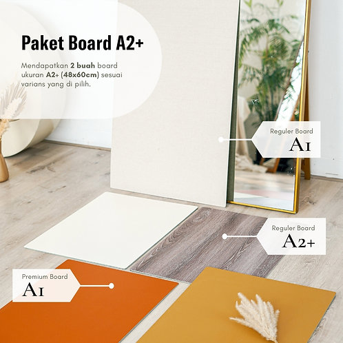Paket Board Series A2+