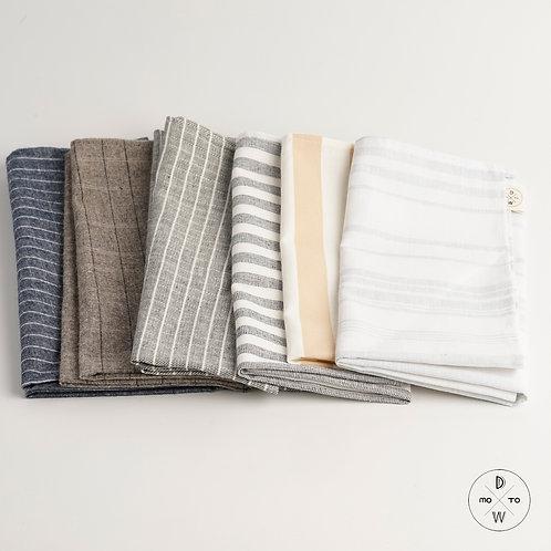 Linen Napkins - Stripes Series II