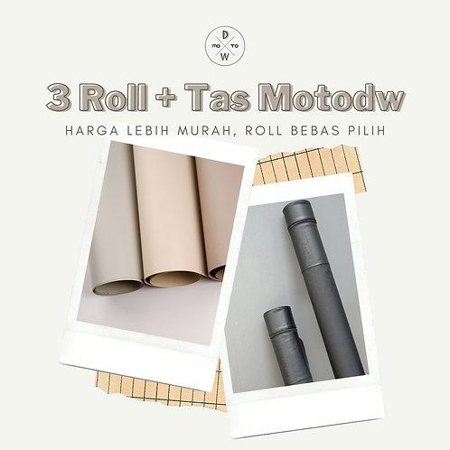 Paket Tas + 3 Roll Series