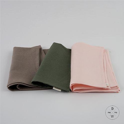 Linen Napkins - Neutral Color Tone