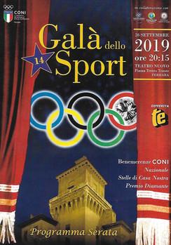 """Premiate le eccellenze sportive ferraresi al """"Galà dello Sport"""" al Teatro Nuovo"""