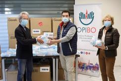 64.000 mascherine della Regione ER agli                           Ordini Sanitari