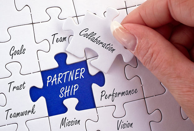 Partnership Business Concept with female