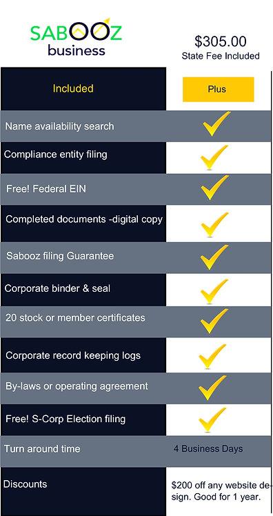 Non-Profit Corporation Formation Package Plus