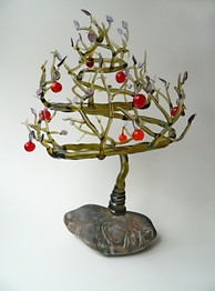 Glass apple tree