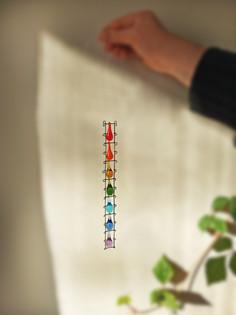 Hanging rainbow decor