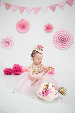 Cake Smash Photo Shoot Huddersfield