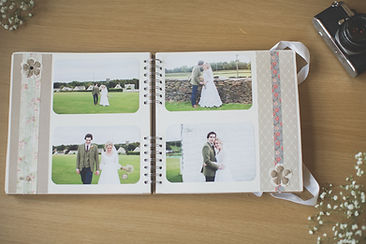 Handmade Scrapbooks - Wedding Photographer