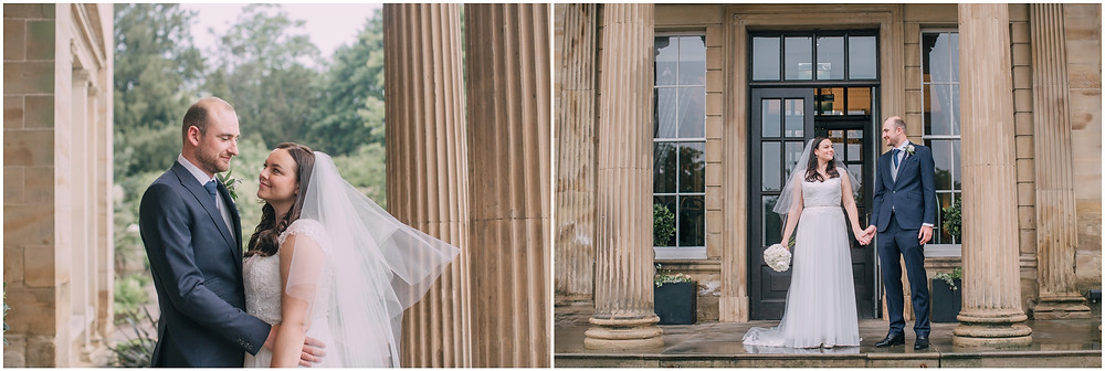 Oulton Hall Rain Wedding Photography