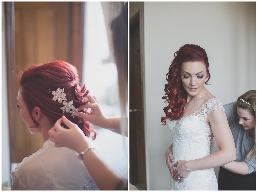 Monk Fryston Hall Wedding Photography Zoe Ann Photography