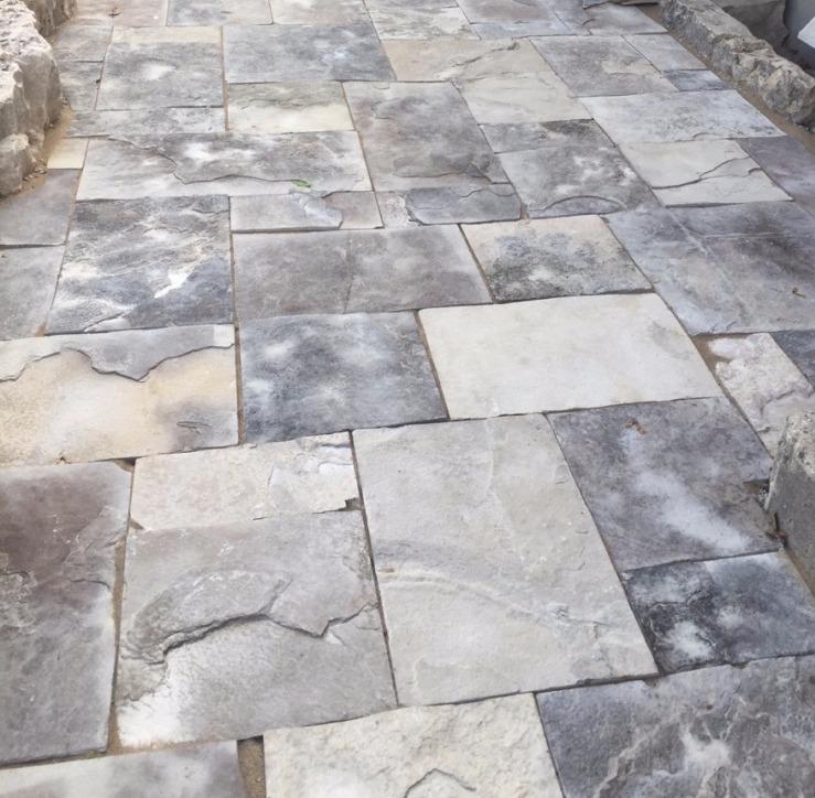 Textured Square-Cut Flagstone