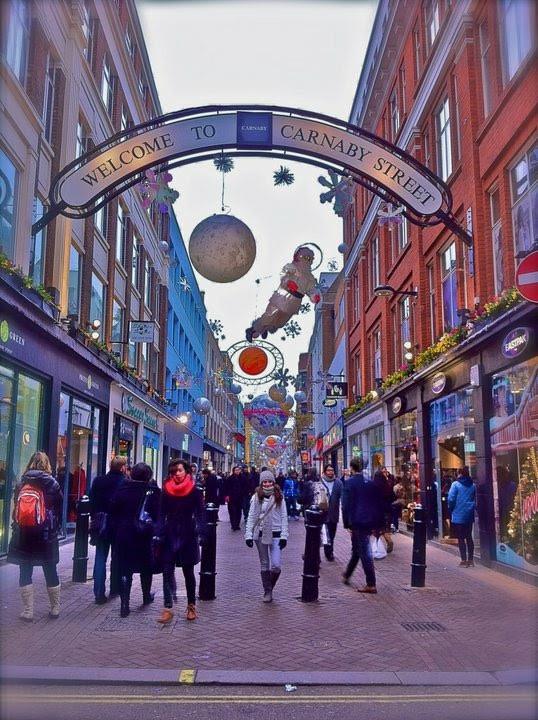 Carnaby Street London 2010