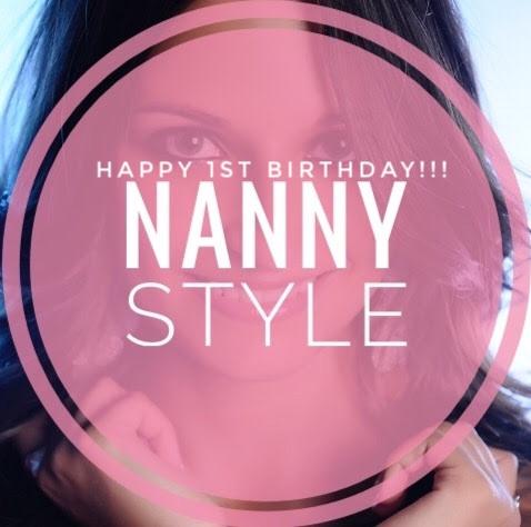 Happy 1st Birthday Nanny Style!!-¡¡Feliz cumpleaños Nanny Style!!