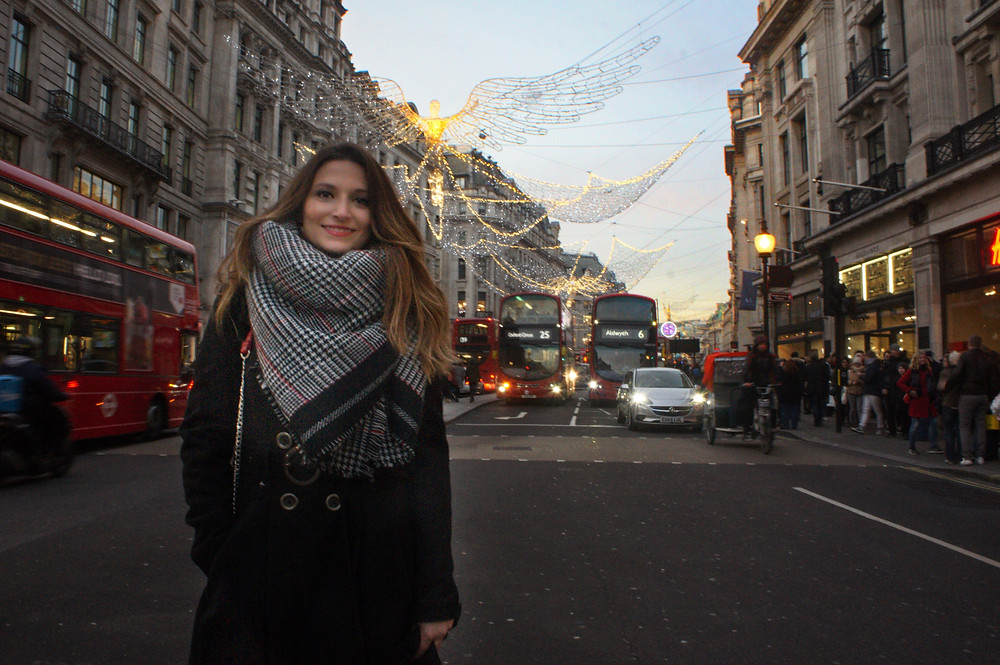 Regent's Street traffic