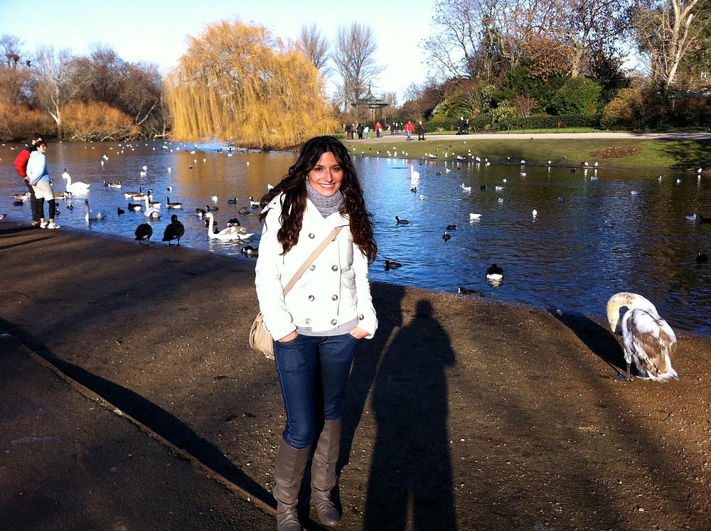 girl in Regent's Park London