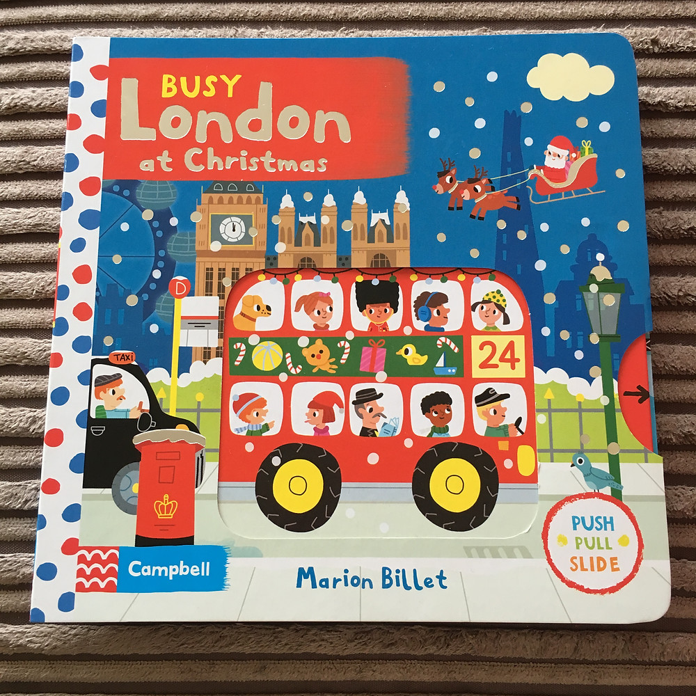 Busy London at Christmas book