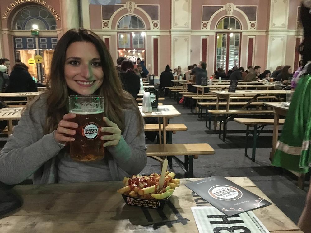 Bonfire night German Bier Festival