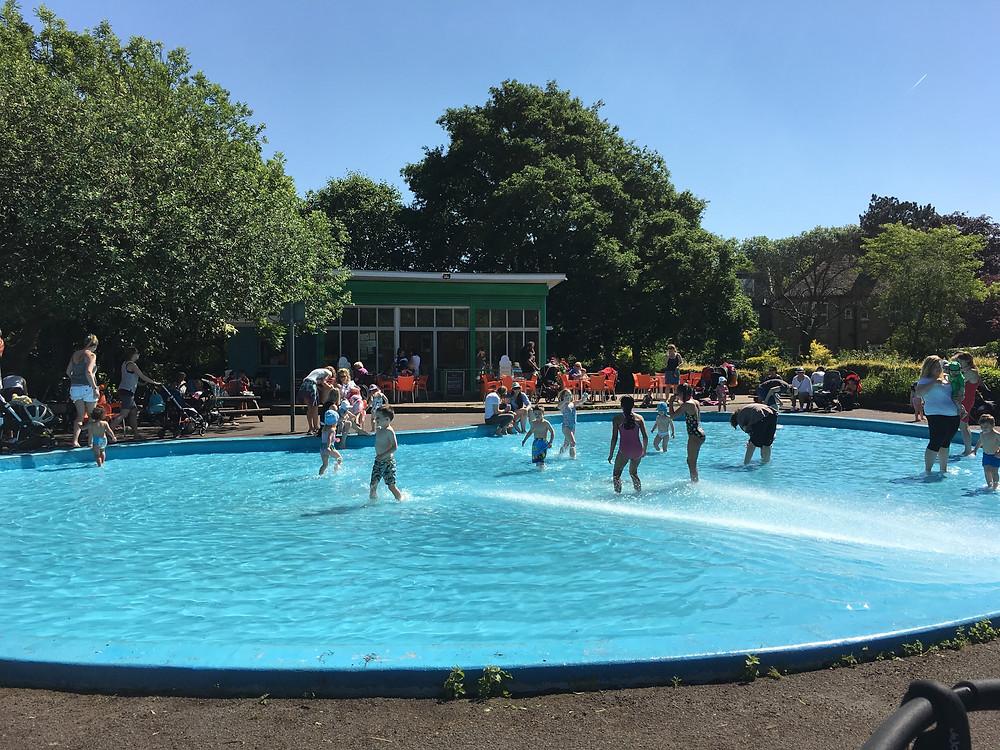 Priory Park paddling pool