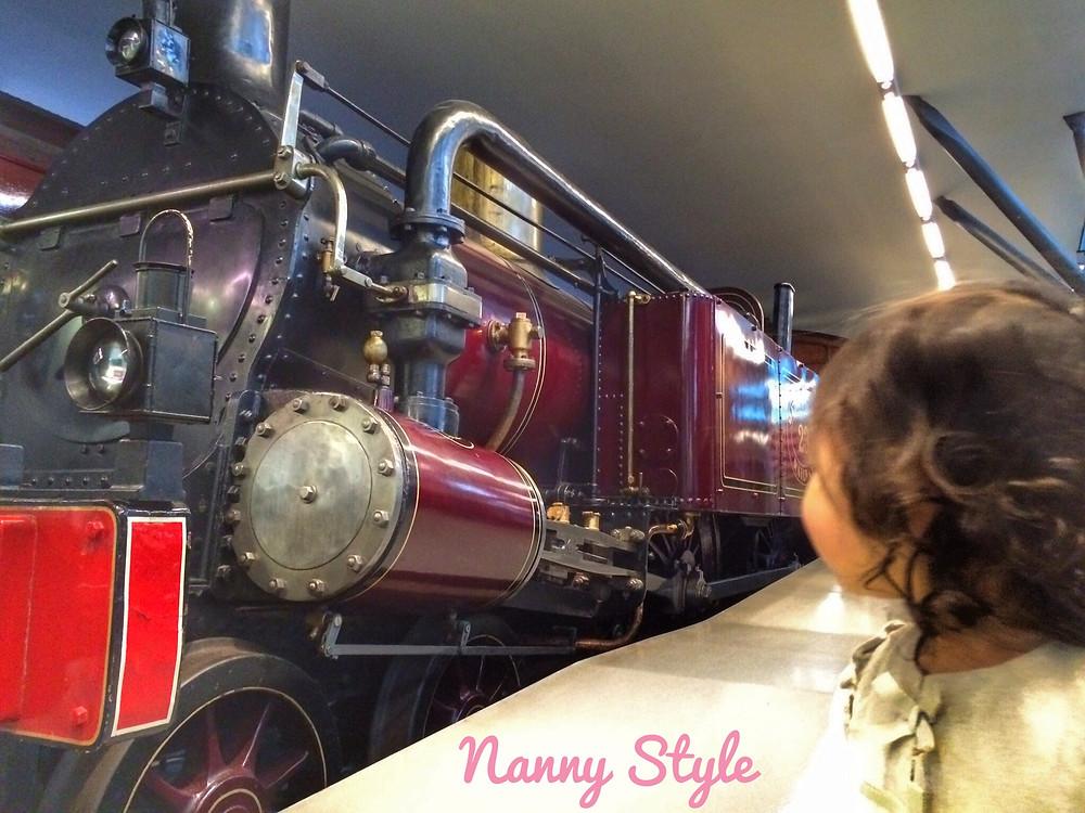 tren museo train museum