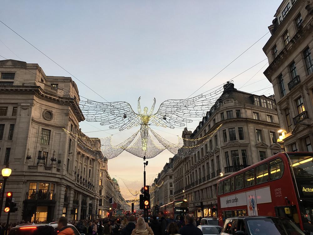 Angel Christmas Navidad Londres