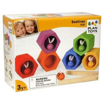 beehives abejas bees plan toys
