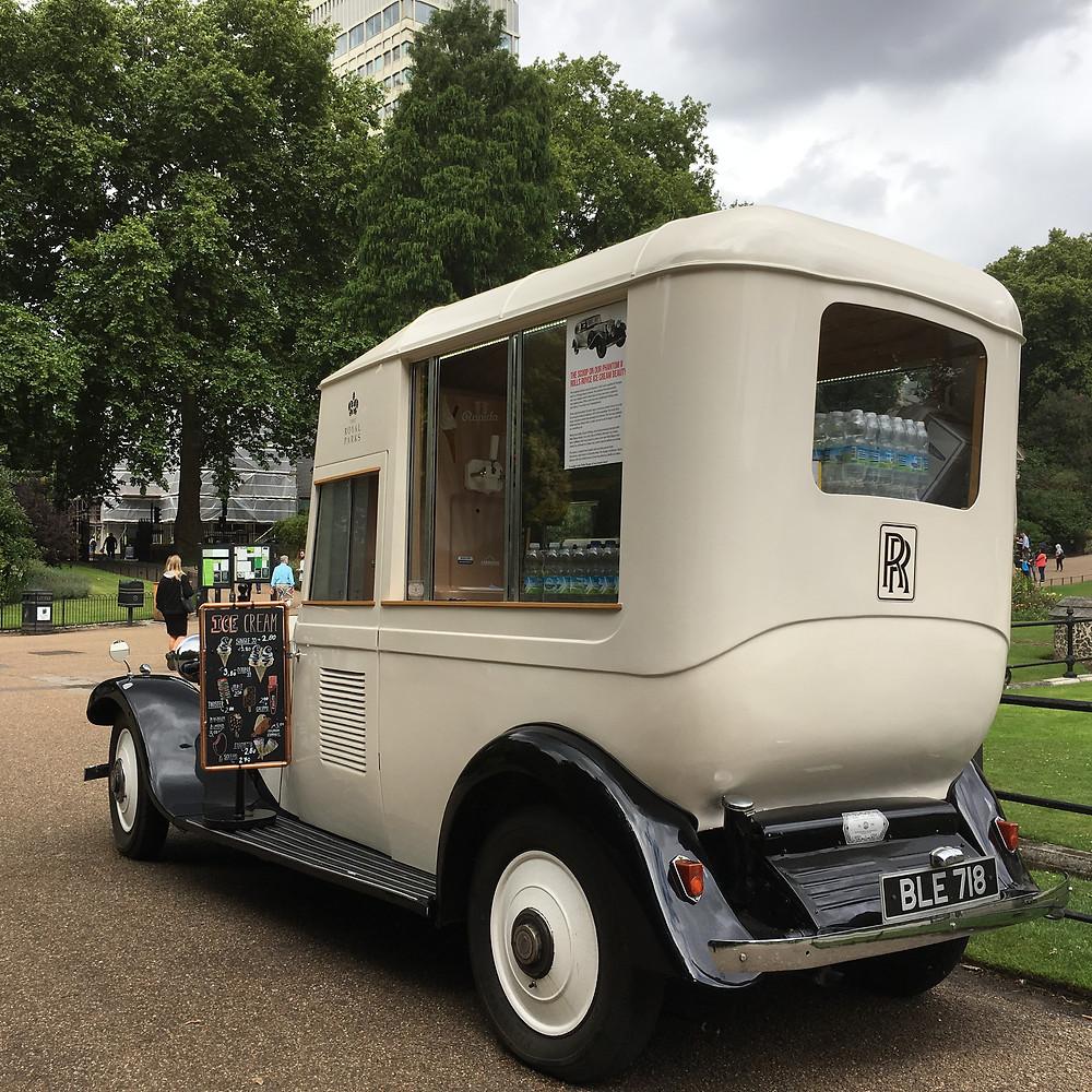 Rolls Royce Ice cream