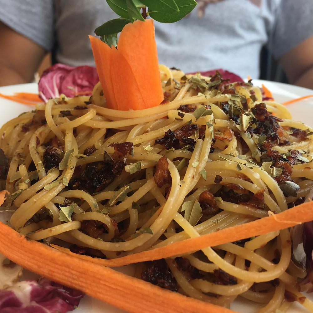 Spaghetti al Mirto