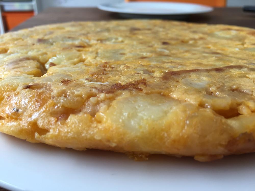 Tortilla de patatas Spanish omelette