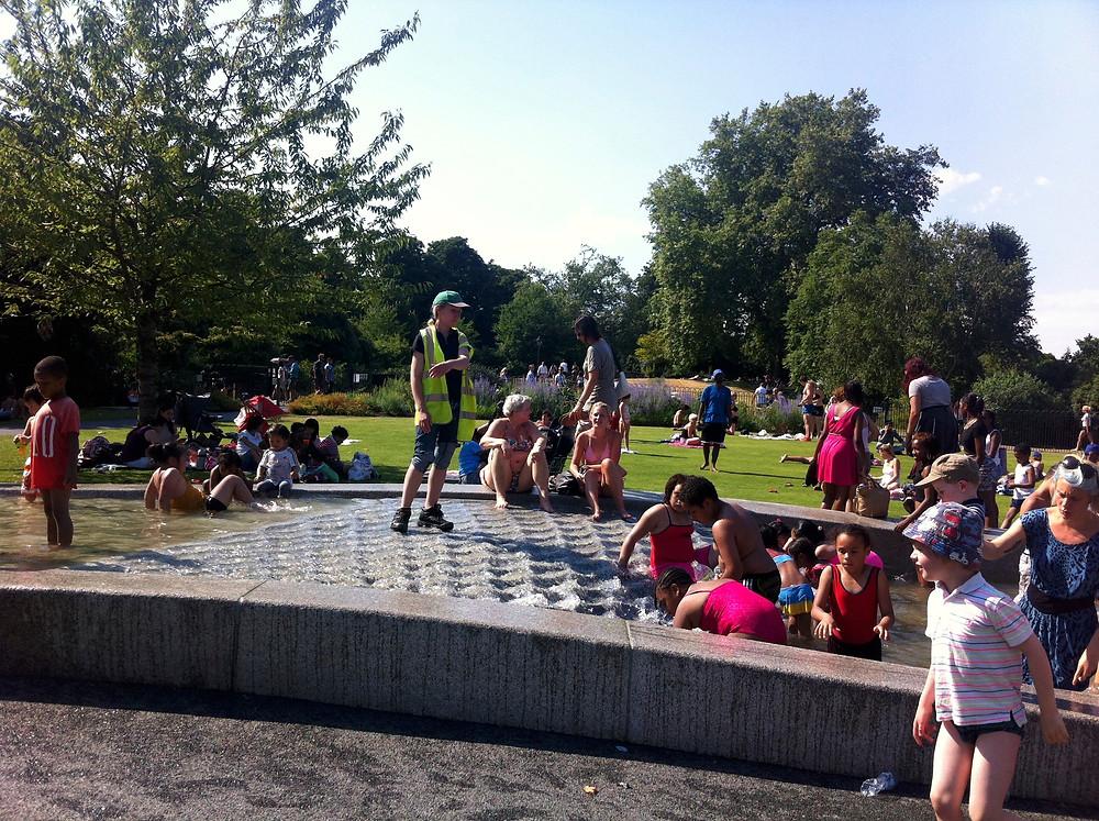 Diana Memorial Fountain Hyde Park