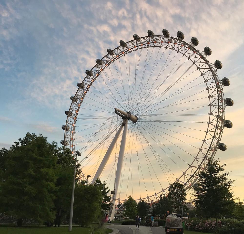 london eye londres noria
