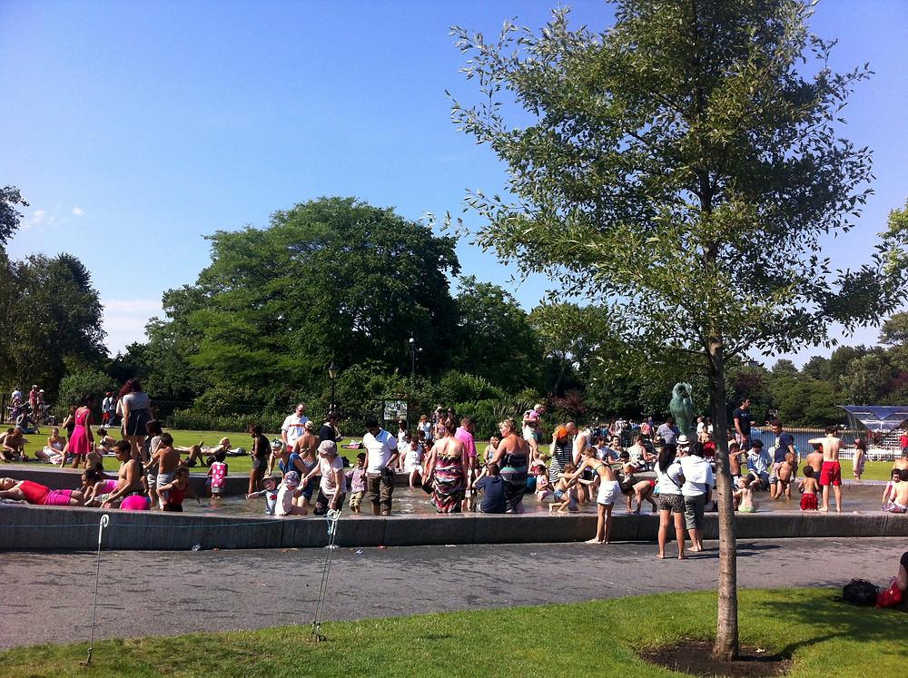 Princess Diana Memorial Fountain Hyde Park