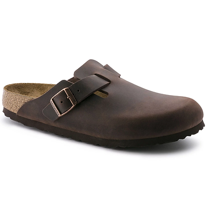 Birkenstock - Boston Oiled Leather Habana