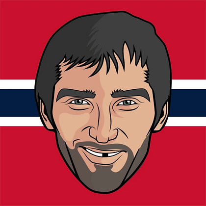 Major League Socks - Alexander Ovechkin