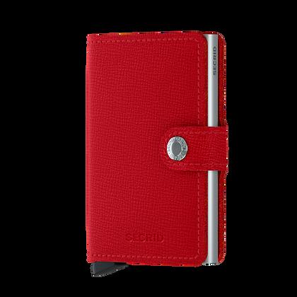 Secrid - Miniwallet Crisple Red