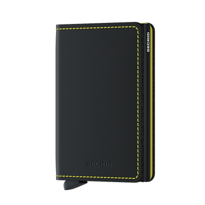 Secrid - Slimwallet Matte Black/Yellow